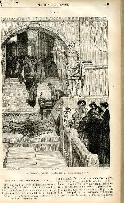 LE MAGASIN PITTORESQUE - Livraison n°37 - Agrippa.
