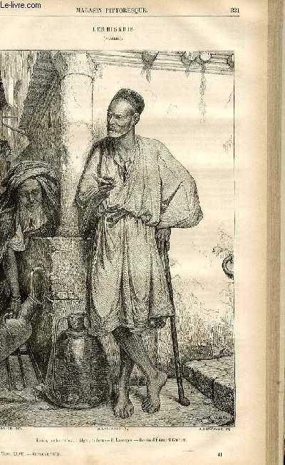 LE MAGASIN PITTORESQUE - Livraison n°41 - Les biskris (Algérie).