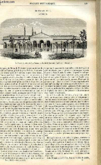 LE MAGASIN PITTORESQUE - Livraison n°42 - Le palais du T à Mantoue.