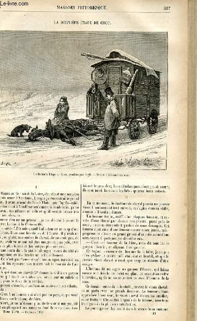 LE MAGASIN PITTORESQUE - Livraison n°43 - La dernière étape de coco.