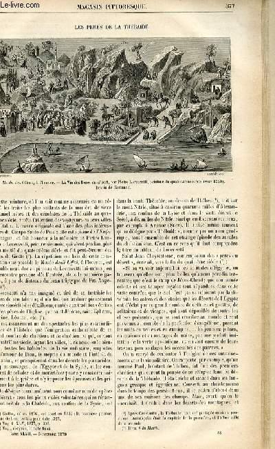 LE MAGASIN PITTORESQUE - Livraison n°48 - Les pères de la Thébaïde.