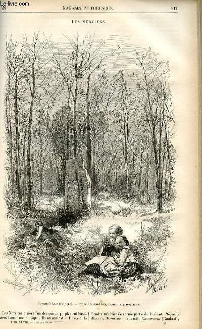 LE MAGASIN PITTORESQUE - Livraison n°28 - Les Nerviens.
