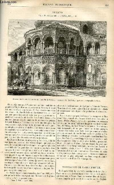 LE MAGASIN PITTORESQUE - Livraison n°33 - Murano.