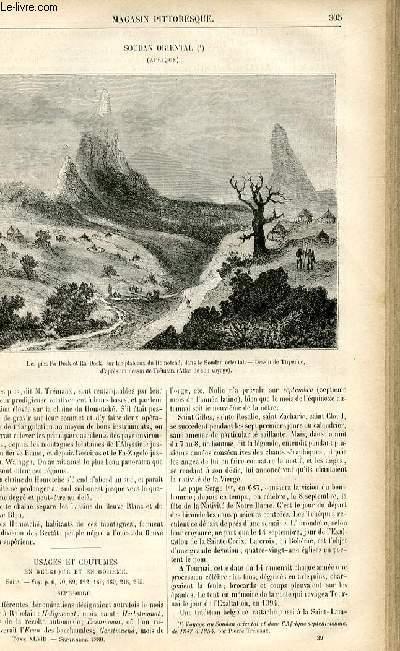 LE MAGASIN PITTORESQUE - Livraison n°39 - Soudan oriental (Afrique).