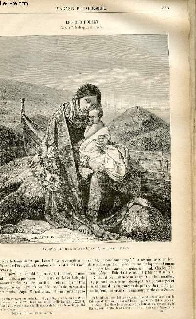 LE MAGASIN PITTORESQUE - Livraison n°49 - Léopold Robert.