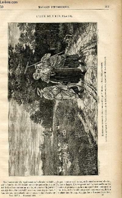 LE MAGASIN PITTORESQUE - Livraison n°50 - L'idée du vieux Blaise.