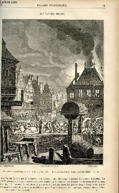 LE MAGASIN PITTORESQUE - Livraison n°06 - Jean van Der Heyden.