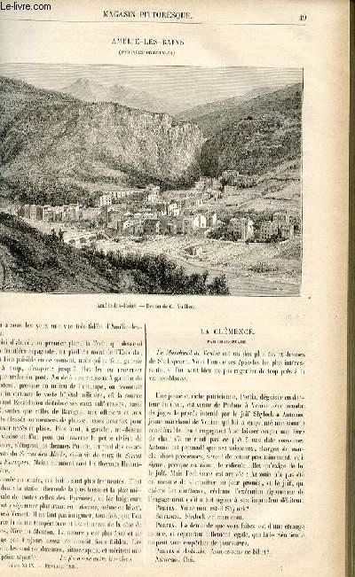 LE MAGASIN PITTORESQUE - Livraison n°07 - Amélie Les Bains, Pyrénées orientales.