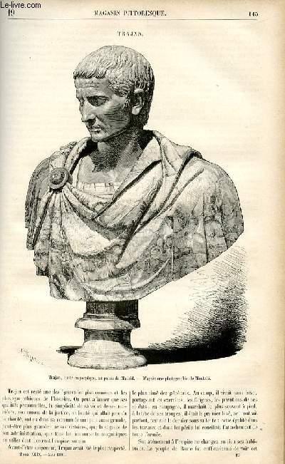 LE MAGASIN PITTORESQUE - Livraison n°19 - Trajan.
