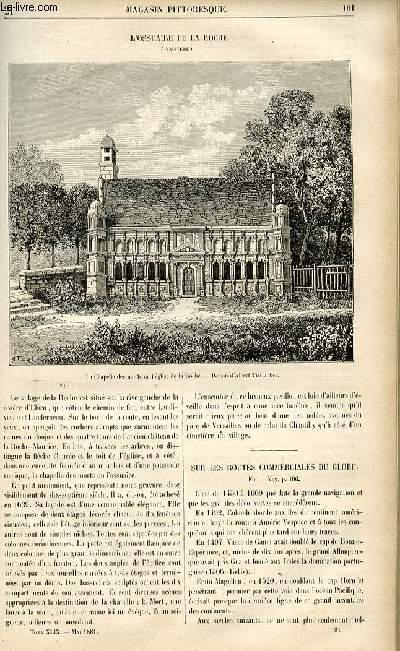 LE MAGASIN PITTORESQUE - Livraison n°21 - L'ossuaire de la Roche (Finistère).