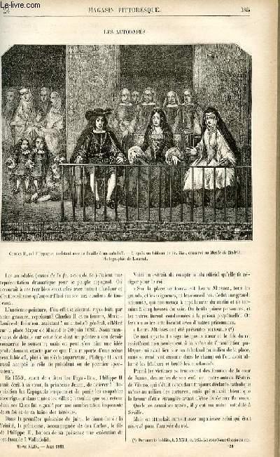 LE MAGASIN PITTORESQUE - Livraison n°24 - Les autodafés.
