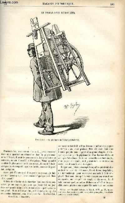 LE MAGASIN PITTORESQUE - Livraison n°25 - Le roman d'un rémouleur.