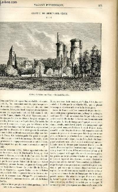 LE MAGASIN PITTORESQUE - Livraison n°29 - Château de Mehun Sur Yèvre (Cher).