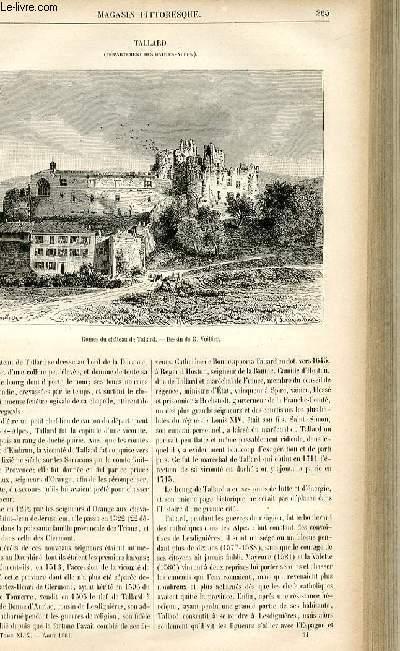 LE MAGASIN PITTORESQUE - Livraison n°34 - Tallard (Hautes Alpes).
