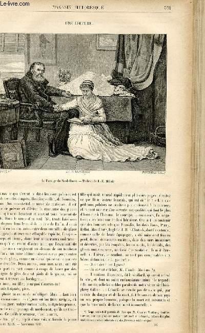 LE MAGASIN PITTORESQUE - Livraison n°46 - Une lecture.