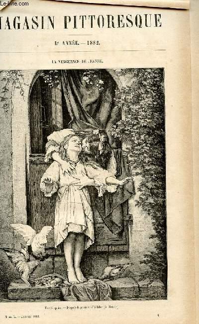 LE MAGASIN PITTORESQUE - Livraison n°01 - La vengeance de Jeanne.