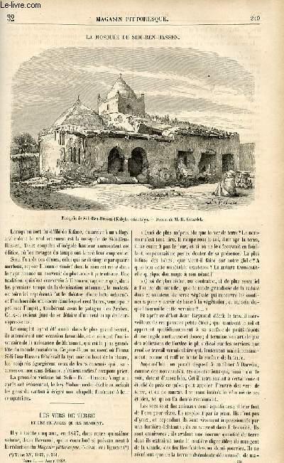 LE MAGASIN PITTORESQUE - Livraison n°32 - La mosquée de Sidi Ben Hassen.