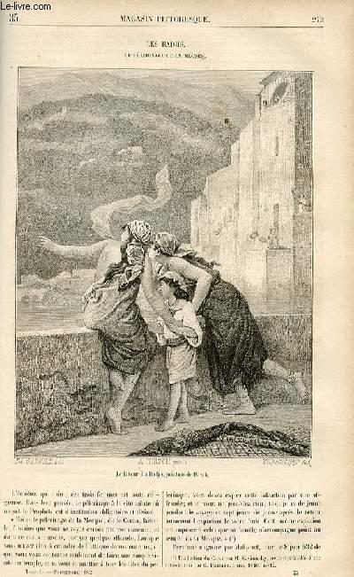 LE MAGASIN PITTORESQUE - Livraison n°35 - Les hadjis - le pélerinage de la Mecque.
