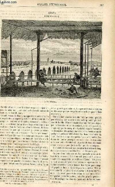 LE MAGASIN PITTORESQUE - Livraison n°38 - Adana (Asie mineure).