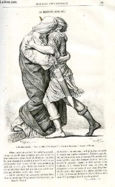 LE MAGASIN PITTORESQUE - Livraison n°14 - La dernière étreinte par J. Colomb.