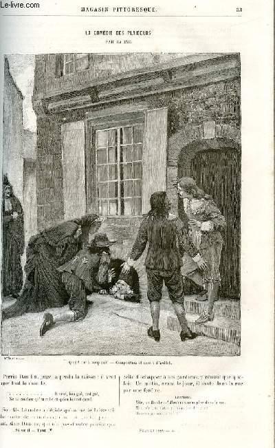 LE MAGASIN PITTORESQUE - Livraison n°03 - La comédie des plaideurs par Racine.