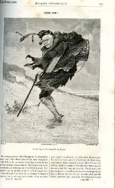 LE MAGASIN PITTORESQUE - Livraison n°07 - Pauvre pitre par Charton.