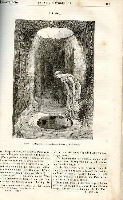 LE MAGASIN PITTORESQUE - Livraison n°11 - Le lupercal.