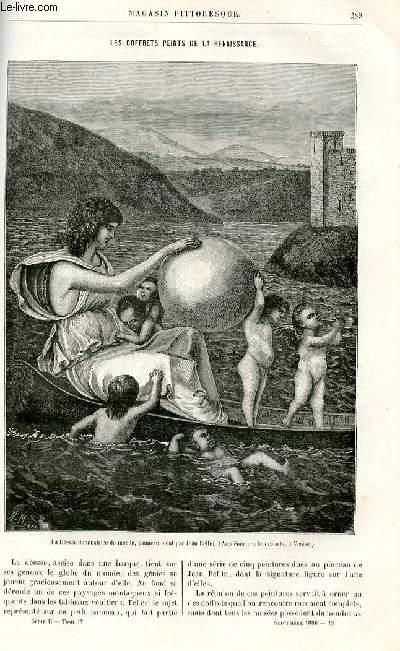 LE MAGASIN PITTORESQUE - Livraison n°18 - Les coffrets peints de la Renaissance par Molinier.