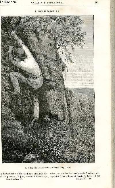 LE MAGASIN PITTORESQUE - Livraison n°19 - Le docteur Schmerling.
