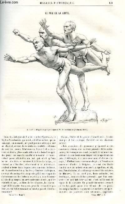 LE MAGASIN PITTORESQUE - Livraison n°08 - Le prix de la lutte par E.L