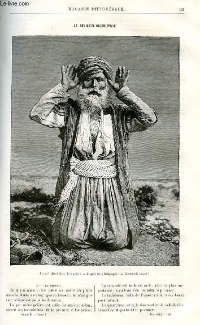LE MAGASIN PITTORESQUE - Livraison n°10 - La religion musulmane.