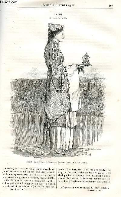 LE MAGASIN PITTORESQUE - Livraison n°13 - Liotard,suite.