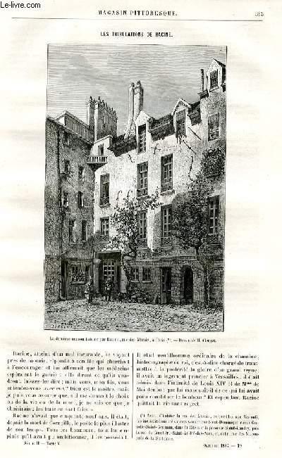 LE MAGASIN PITTORESQUE - Livraison n°19 - Les tribulations de RAcine par Lesbazeilles,à suivre.