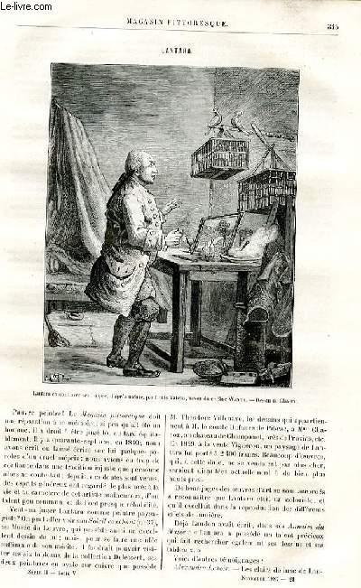 LE MAGASIN PITTORESQUE - Livraison n°21 - Lantara par Ed. Ch.