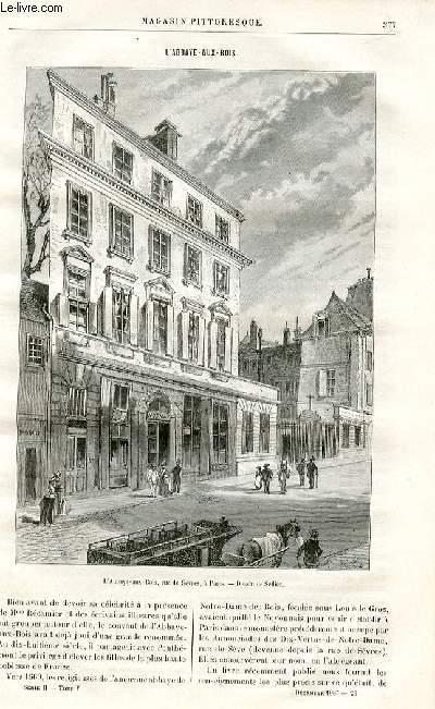 LE MAGASIN PITTORESQUE - Livraison n°23 - L'abbaye-aux-bois par Lesbazeilles.