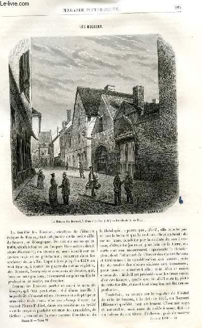 LE MAGASIN PITTORESQUE - Livraison n°14 - Les Bossuet par Lesbazeilles.