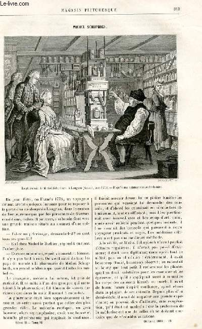 LE MAGASIN PITTORESQUE - Livraison n°19 - Michel Schupbach.