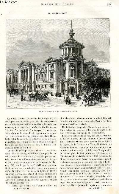 LE MAGASIN PITTORESQUE - Livraison n°20 - Le musée Guimet.
