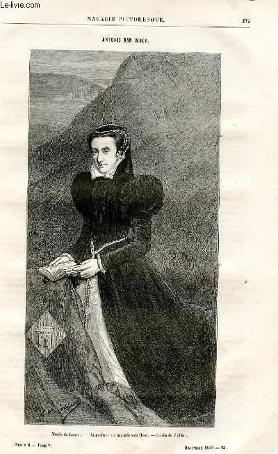 LE MAGASIN PITTORESQUE - Livraison n°23 - Antonis Van Moor par Lucien de la Rive.