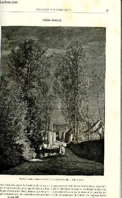 LE MAGASIN PITTORESQUE - Livraison n°03 - Eugène Lavieille par Mantz.