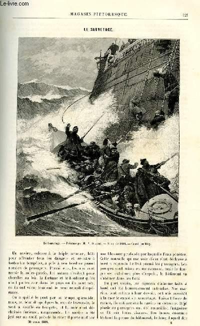 LE MAGASIN PITTORESQUE - Livraison n°08 - Le sauvetage.