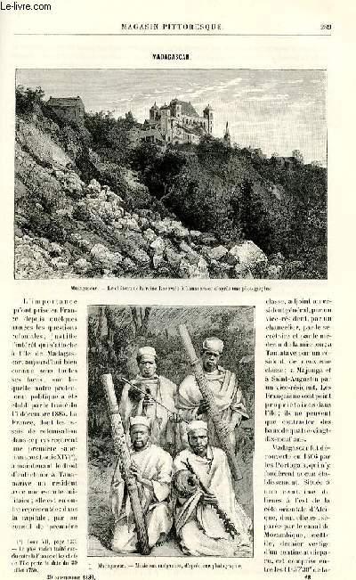 LE MAGASIN PITTORESQUE - Livraison n°18 - Madagascar.