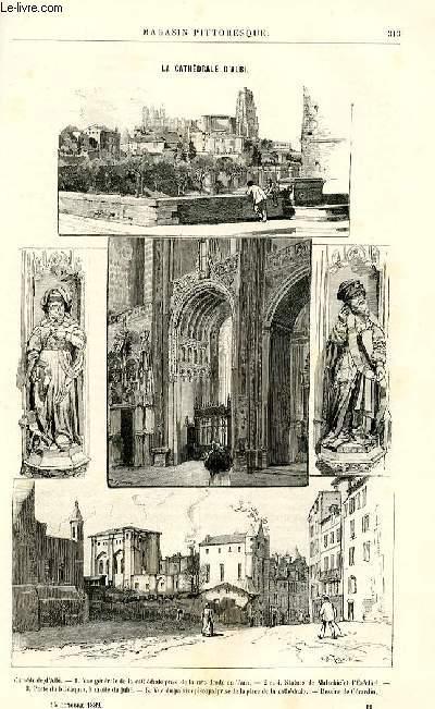 LE MAGASIN PITTORESQUE - Livraison n°19 - La cathédrâle d'Albi.