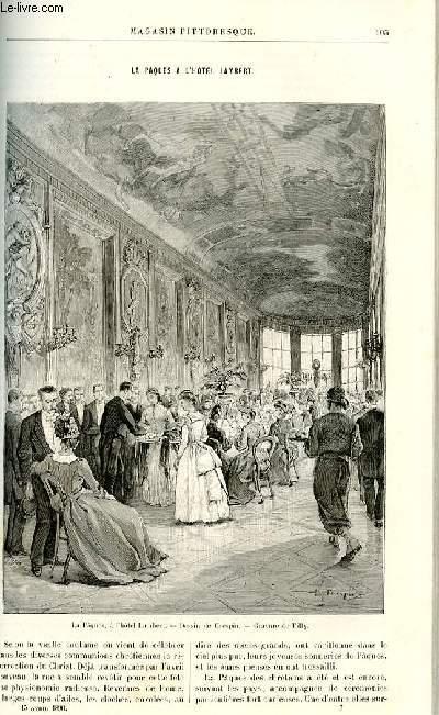 LE MAGASIN PITTORESQUE - Livraison n°07 - La Pâques à l'hôtel Lambert par Mme Guizot.