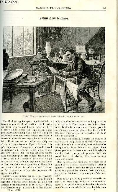 LE MAGASIN PITTORESQUE - Livraison n°08 - La peinture sur porcelaine.