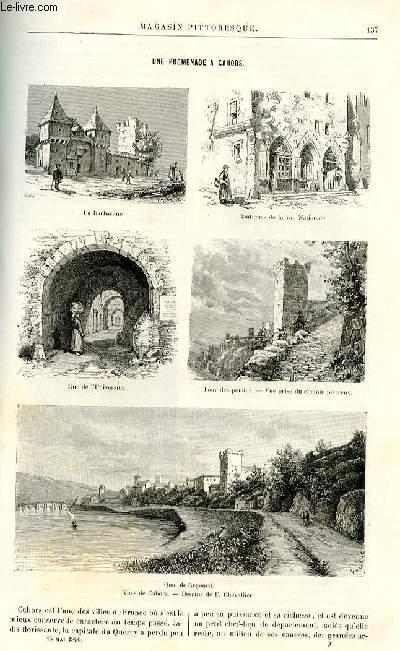 LE MAGASIN PITTORESQUE - Livraison n°09 - Une promenade à Cahors par F. Chevalier.