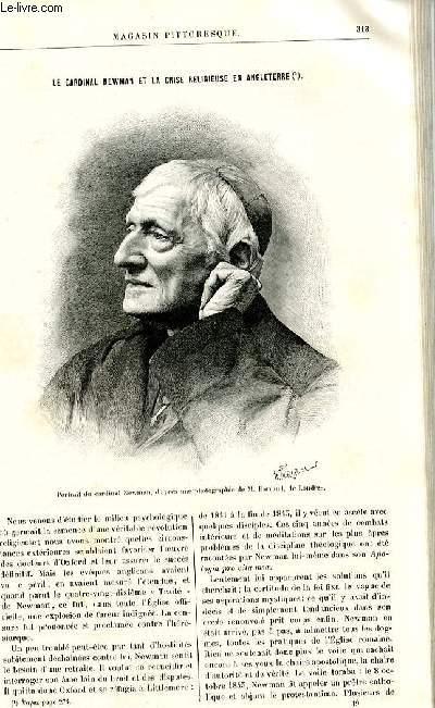 LE MAGASIN PITTORESQUE - Livraison n°19 - Le cardinal Newman et la crise religieuse en Angleterre.