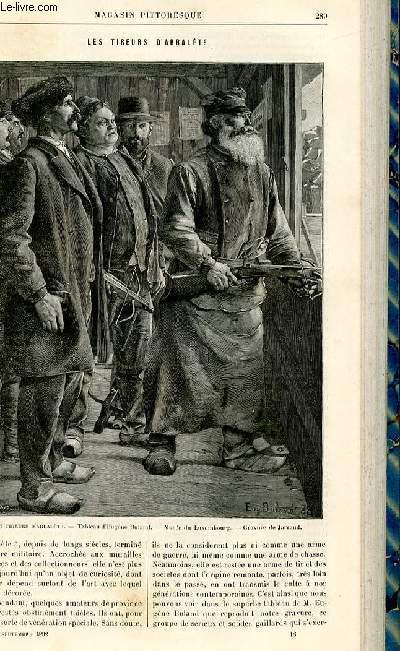 LE MAGASIN PITTORESQUE - Livraison n°18 - Les tireurs d'arbalète.