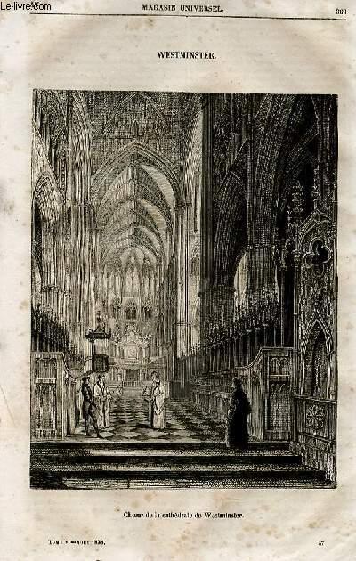 Le magasin universel - tome cinquième - Livraison n°47 - Westminster.