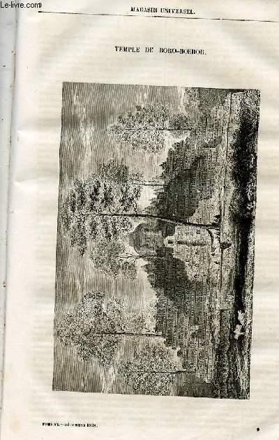 Le magasin universel - tome sixième - Livraison n°09 - Temple de Boro Boedor.